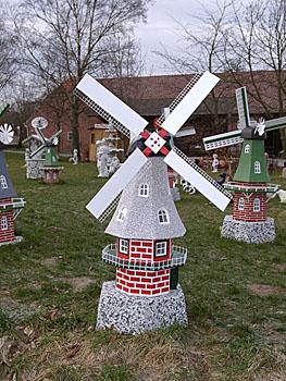 Reimann Online Gartenwindmühlen Aus Beton